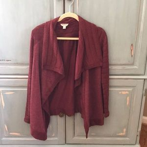 Lucky brand extra small open front cardigan XS